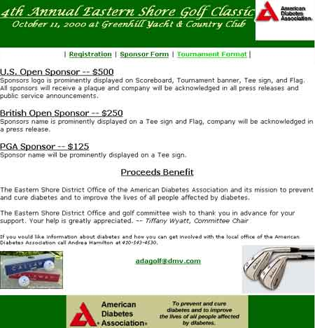 American Diabetes Association Golf Classic