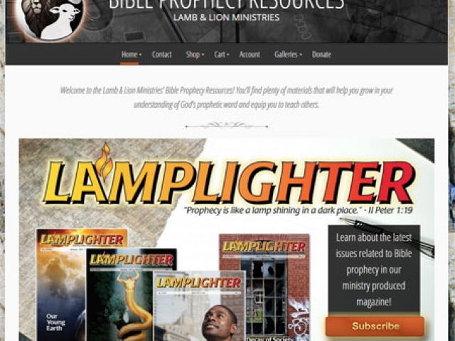 Bible Prophecy Resources