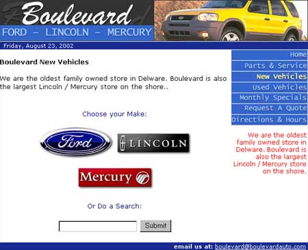 Boulevard Auto Dealership