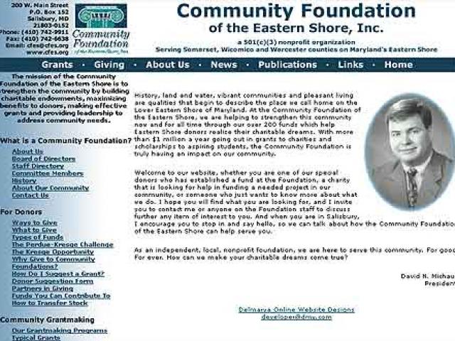 Community Foundation Eastern Shore