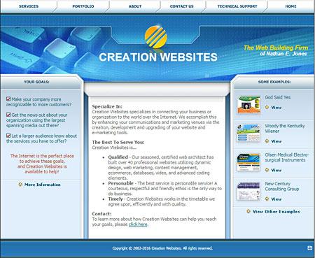 Creation Websites