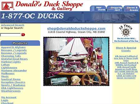 Donald's Duck Shoppe