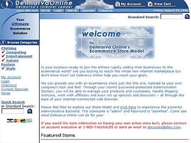 Delmarva Online Ecommerce