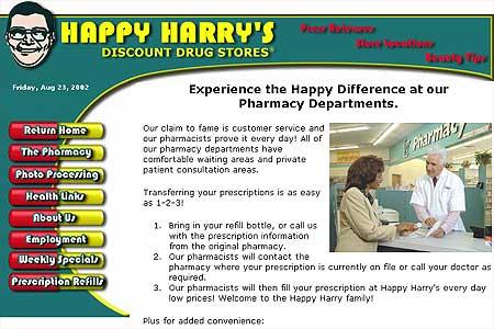 Happy Harry's Discount Drug Stores