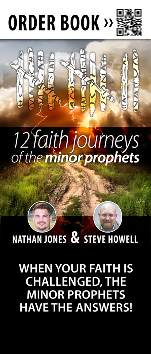 12 Faith Journeys of the Minor Prophets Banner