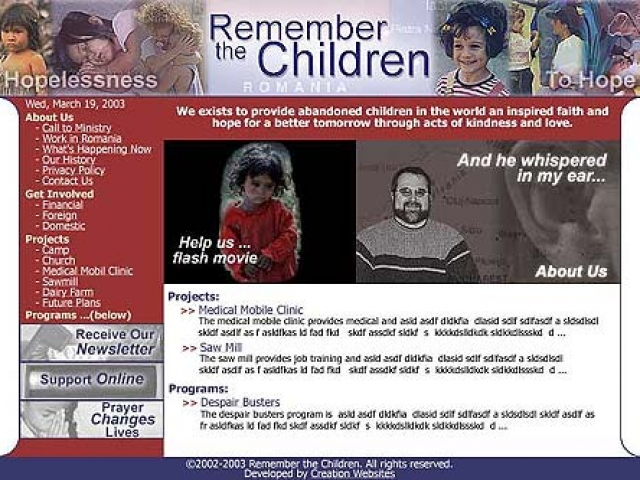 Remember the Children Adoption