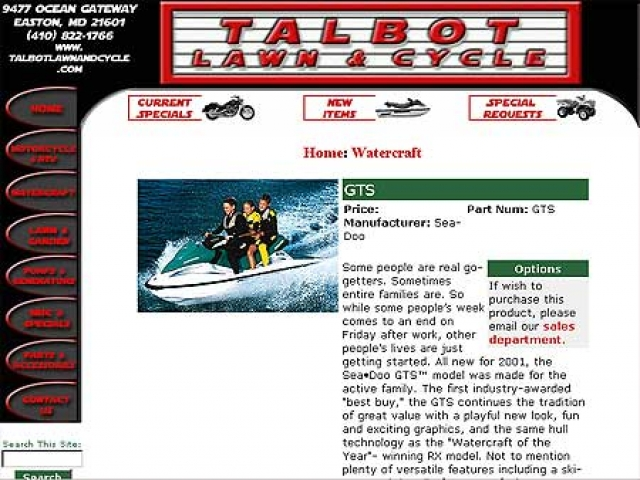 Talbot Lawn & Cycle