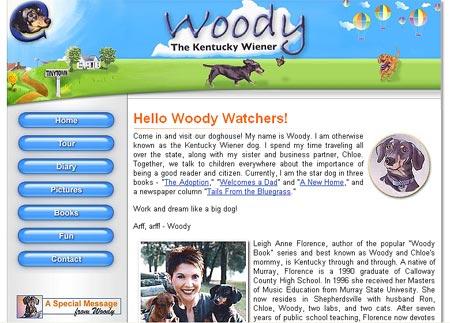 Woody the Kentucky Wiener